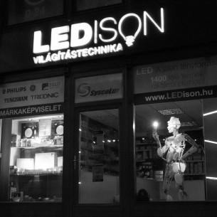 LEDISON Világítástechnikai márkabolt-Sysco-Lux Kft.