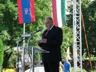 dr. Tóth József tartott ünnepi beszédet.