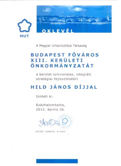 Hild János-díj