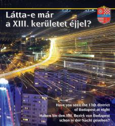 A XIII. kerület éjszakai fényei