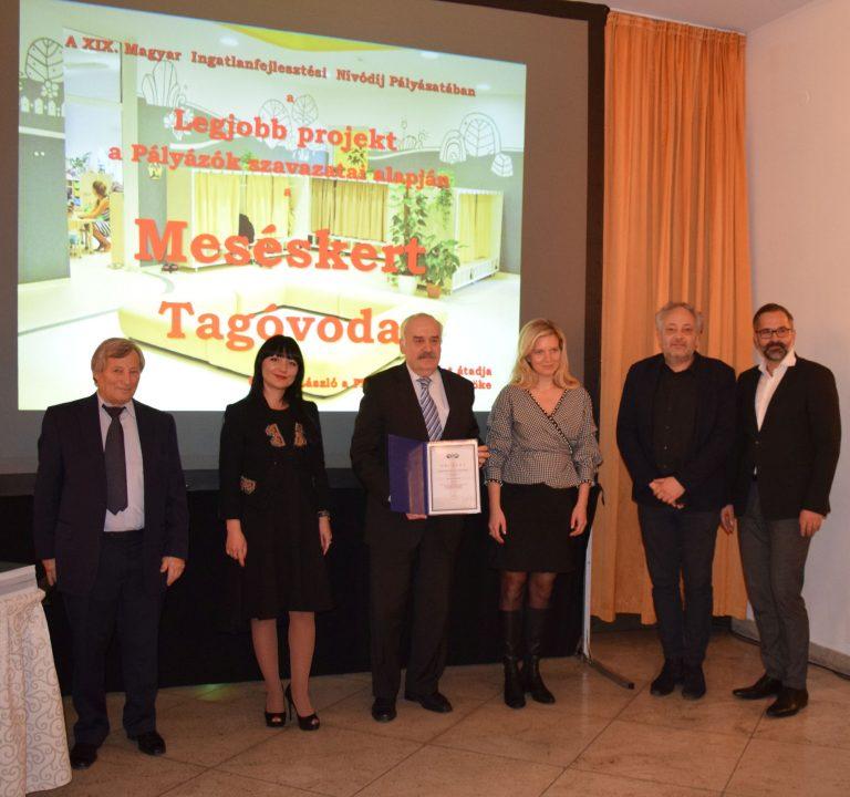 Négy díjat nyert a kerület a XIX. Magyar Ingatlanfejlesztési Nívódíj Pályázaton