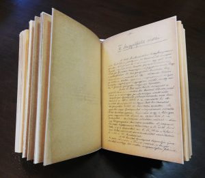 Restauráltattuk Adametz Gyula Angyalföld című könyvének kéziratát
