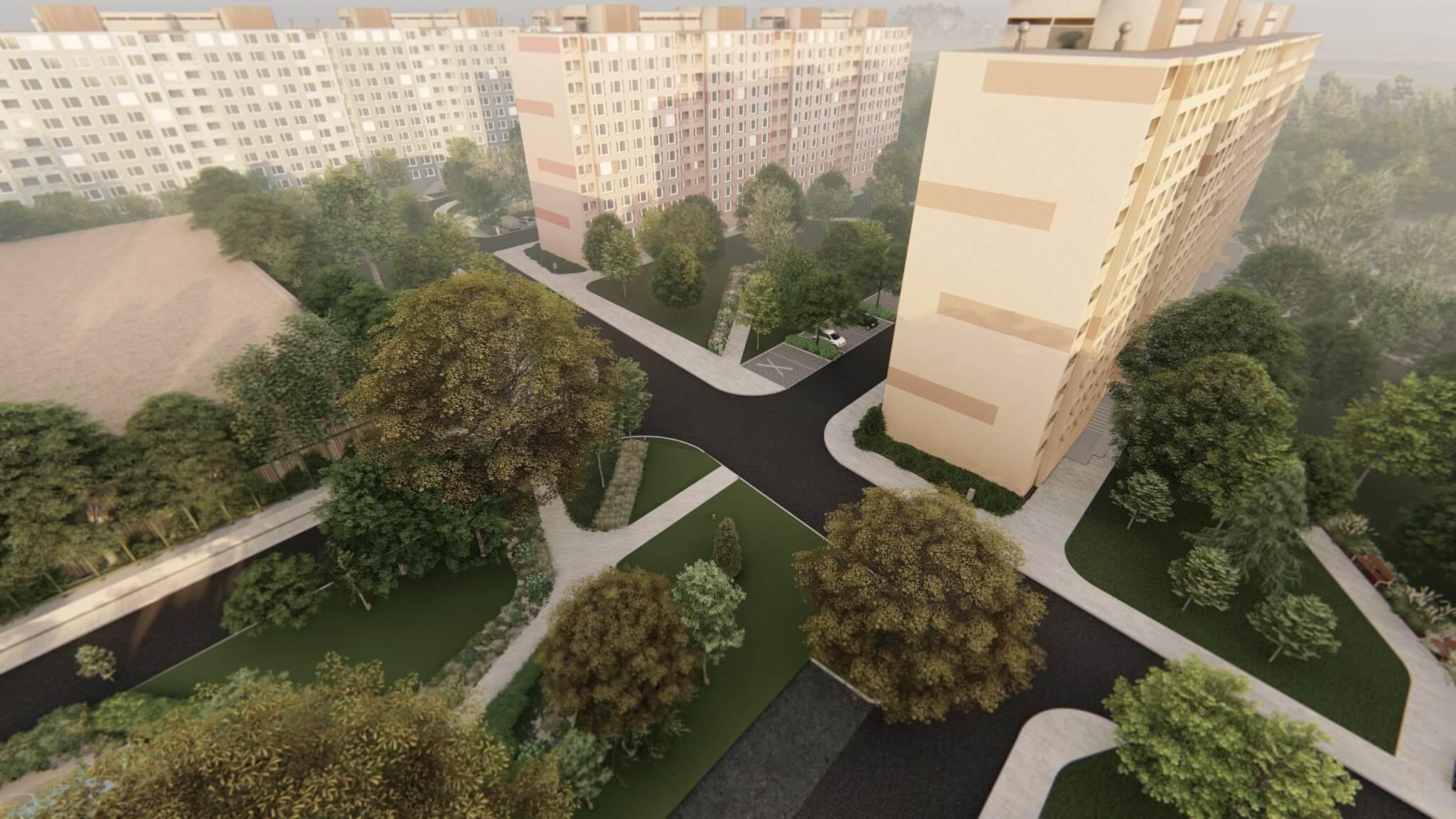 Megújuló Csángó park terve