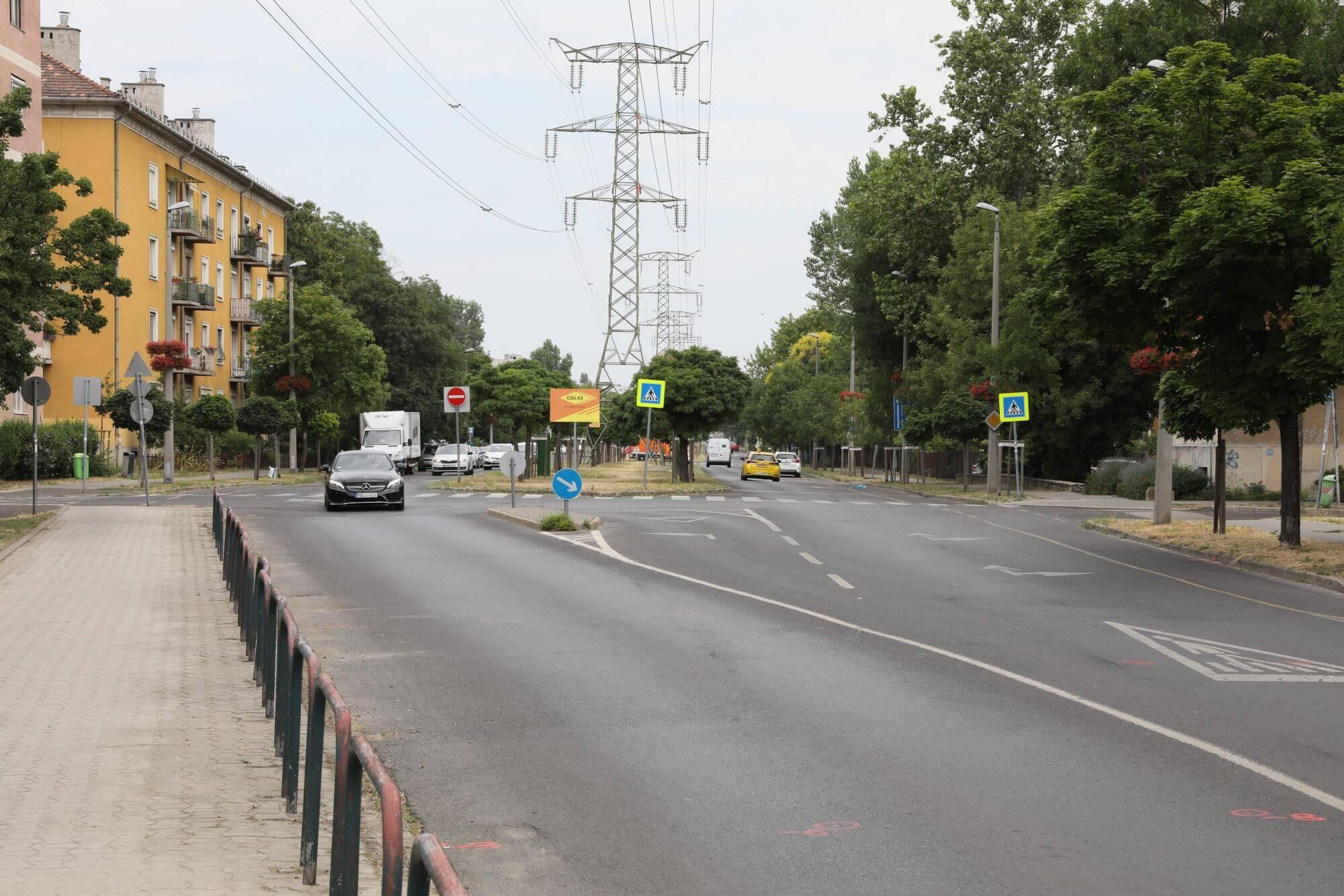Göncöl utca látképe